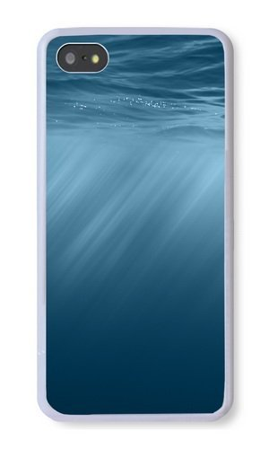 Cunghe Art Custom Designed White TPU Soft Phone Cover Case For iPhone 5S With Underwater Phone Case