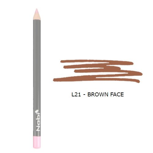 (3 Pack) Nabi Cosmetics Lip Pencil Brown Cafe
