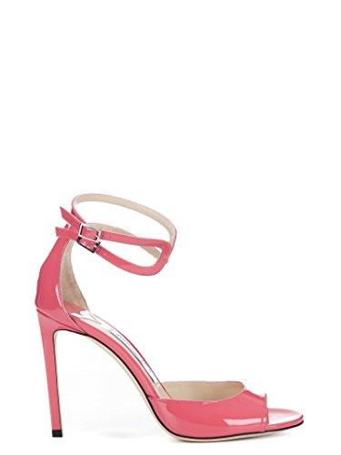 LANE100PTFLAMINGO Jimmy Choo Femme Rose Cuir Escarpins gqEpq