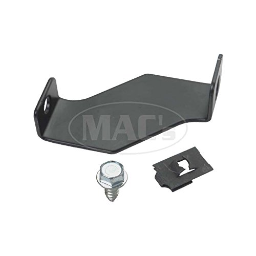 MACs Auto Parts 44-89680 -66 Mustang Fan Shroud Bracket Set With Hardware, 4 Row ()