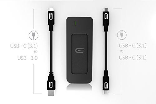 Glyph Atom SSD 2TB Black (External USB-C, USB 3.0, Thunderbolt 3) A2000BLK by Glyph Production Technologies (Image #3)