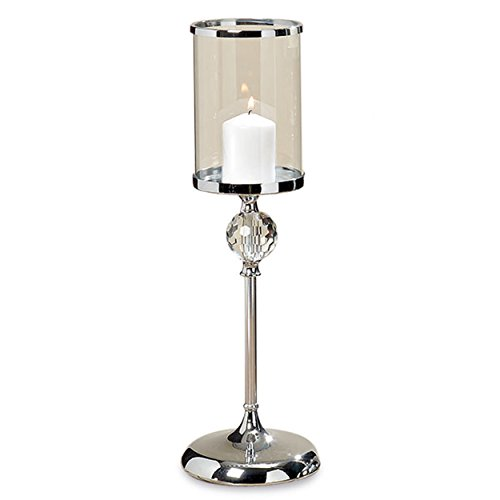 Chrome Candle Holder - 5