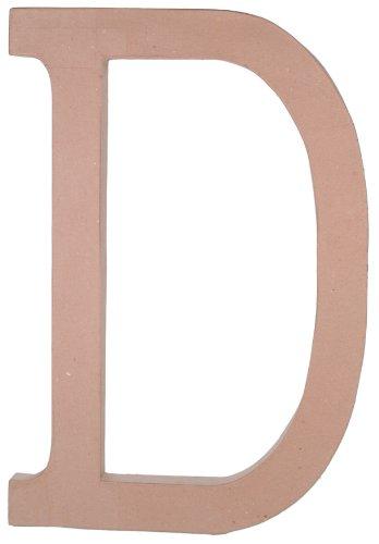 Garden Paper Mache (Paper Mache Letter - D - 23.5 inches)
