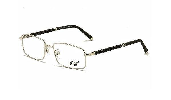 d51913231f0 Eyeglasses Montblanc MB 396 MB0396 016 shiny palladium  Amazon.ca  Health    Personal Care