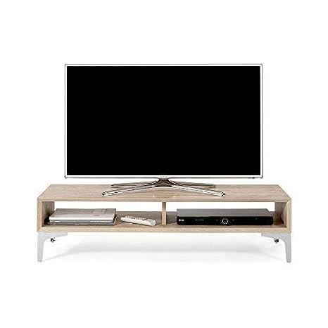 Tavolino X Tv.Mobili Fiver Deep Mobile Tv Stand Wood Oak 112 X 40 X 27