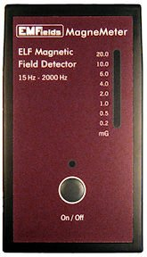 MagneMeter EMF Meter AC Magnetic Fields Gaussmeter