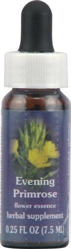 Flower Essence Services Supplement Dropper, Evening Primrose, 0.25 Ounce by Flower Essence Services ()