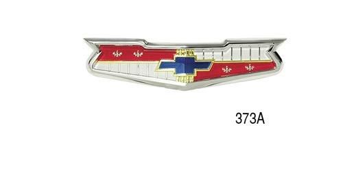 Danchuk 373A Hood Emblem with Bezel (V8)