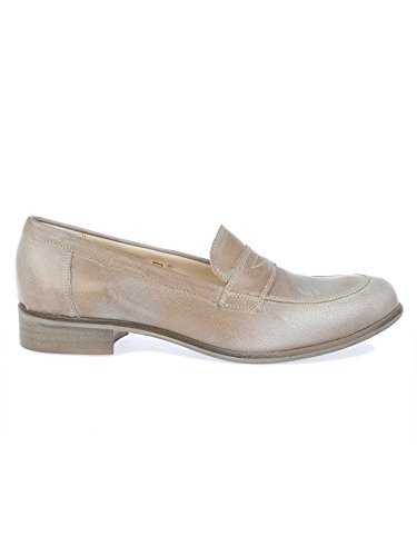 PEPEROSA H6102SILVER Femme Cuir Mocassins Argent fw1YqwBP