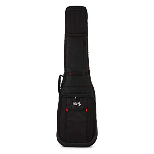 Gator Cases Pro-Go Ultimate Guitar Gig Bag; Fits Electric Bass Guitars (G-PG BASS)