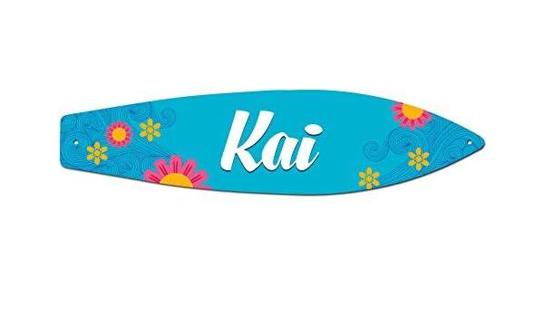 Makoroni Kai Surfer Sign 4.25x17 Aluminum