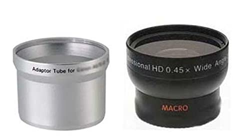 Amazon com : Wide Lens for Canon Powershot A590-IS, Canon