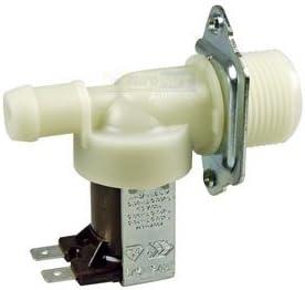 UNIVERSAL Magnetventil Ventil 1-fach 90° 14,0mm Ø Spülmaschine Waschmaschine