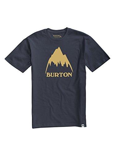 Burton Classic Mountain High Short Sleeve Tee, Mood Indigo, (Burton Blue Shirt)