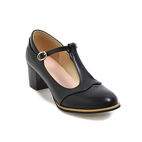 Compensées 5 Noir Noir 36 1TO9 MMS06170 Femme Sandales qZBfwOCA