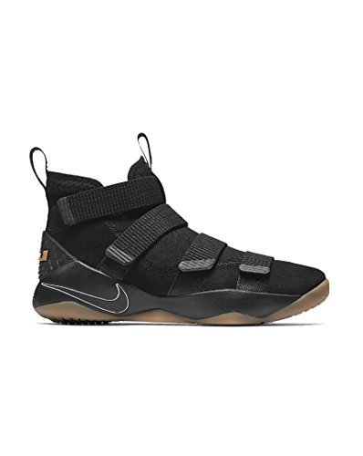 NIKE Mens Lebron Soldier XI Basketball Shoes Black/Gum for sale  Delivered anywhere in Canada