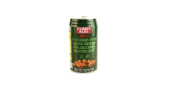 Amazon.com : chiao kuo soya bean drink (leche de soja) - 12fl oz [6 units] (741861037230) : Grocery & Gourmet Food