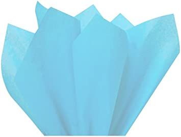 Acid Free Packitsafe 100 Sheets of Baby Blue MG Tissue Paper 15 x 20 Inches 375x500mm Craft Colour Paper All Quantities of Sheets Listed 375BBLUE100