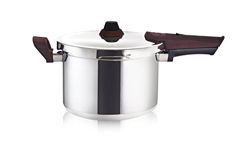Buffalo QWP408 8-Quart Premium Stainless Steel Pressure Cooker [Rouge series]… by Buffalo