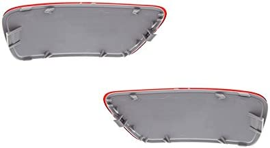 NEW SET OF 2 REFLECTOR LIGHTS COMPATIBLE WITH JEEP COMPASS 2011-2016 57010720AC CH1185100 57010721AC CH1184100