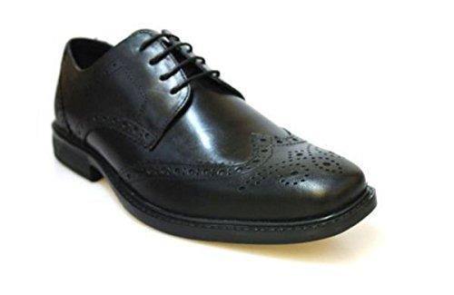 Red Tape Maglin - Zapatos de cordones de Piel para hombre Negro negro