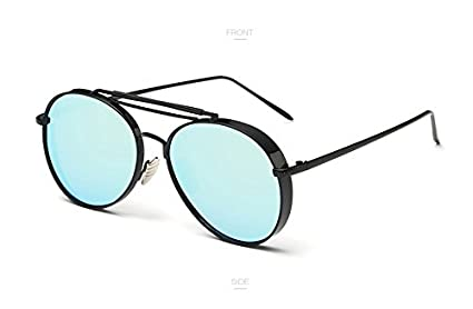 Amazon.com : QiHorr(TM) Pink Mirror Sunglasses Women UV400 ...