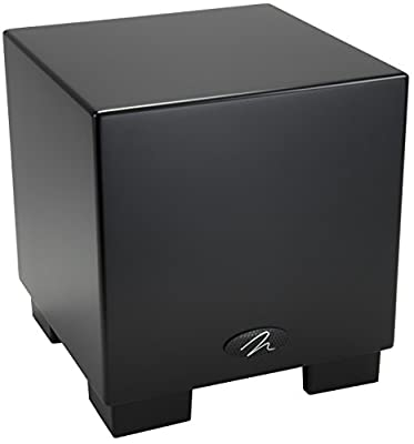 "MartinLogan Dynamo 700W 10"" Subwoofer with Wireless (Black) from MartinLogan"