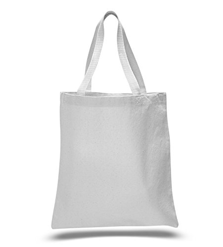 (Promotional Priced Heavy Cotton Canvas Shopping Blank Tote Bag Art Craft)