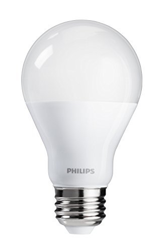 Philips LED Dimmable Soft White Light Bulb with Warm Glow Effect