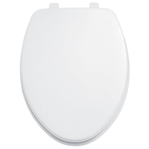 (American Standard 5901110T.020 Toilet Seat, White)