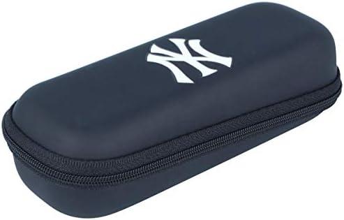 Estuche para gafas para niños con cremallera y logotipo de NY Yankees.: Amazon.es: Salud y cuidado personal