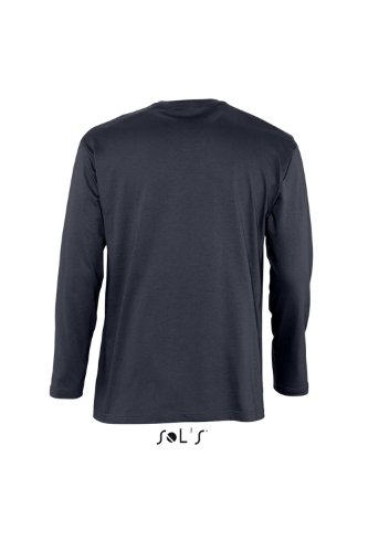 Sols Langarm T-Shirt Monarch, Navy, M