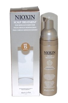 Noticeably Thin (Nioxin System 8 Scalp Treat. For Med/Coarse Chem. Enh. Noticeably Thin. Hair Unisex Treatment, 1.4 Ounce)