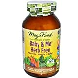 MegaFood Baby and Me Herb-Free 120 Tablets, Health Care Stuffs