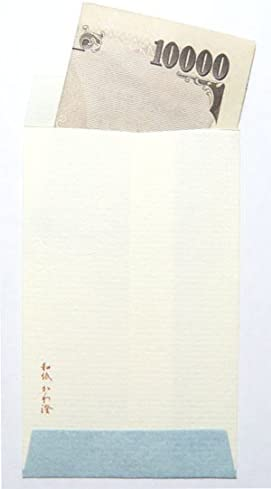 Washi Kawasumi Fujiyama Washi Japansese Paper Money Envelopes 25 Pcs