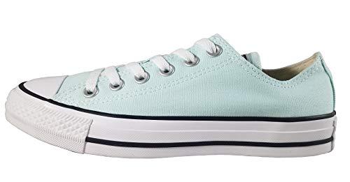 Converse Women's Unisex Chuck Taylor All Star Seasonal 2019 Low Top Sneaker, Teal Tint 8 M -