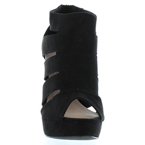 Sandalen für Damen MTNG 53619 FELPI NEGRO