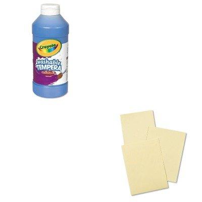 kitcyo543115042pac004109-value-kit-pacon-cream-manila-drawing-paper-pac004109-and-crayola-artista-ii
