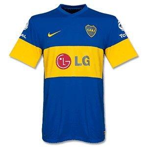 Boca Juniors Shirts (2011-12 Boca Juniors Nike Away Football Shirt)