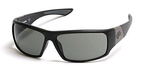 Sunglasses Harley Davidson HD 912 X HD 0912 X 02A matte black / smoke (Glasses Harley Davidson)