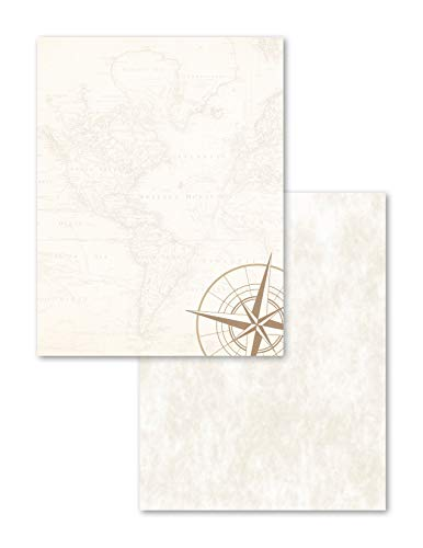 - Astrodesigns 2-Sided Preprinted Stationery, 8.5