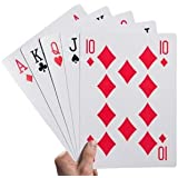 "Kovot Super Jumbo Playing Cards (Humongous 8-1/4"" x 11-3/4"" Cards)"