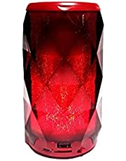 Portable Wireless Bluetooth Speaker Jewel Light With 6 Color LED