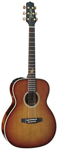 Takamine TF77PT OM Legacy Series Koa Acoustic-Electric Guitar Light Burst - Koa Cedar Top