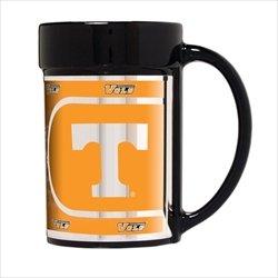 (NCAA Tennessee Volunteers 15 oz Ceramic Coffee Mug with Metallic Graphics)