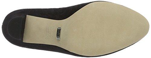 Buffalo London 177124, Zapatos de Tacón Mujer Negro (BLACK 01)