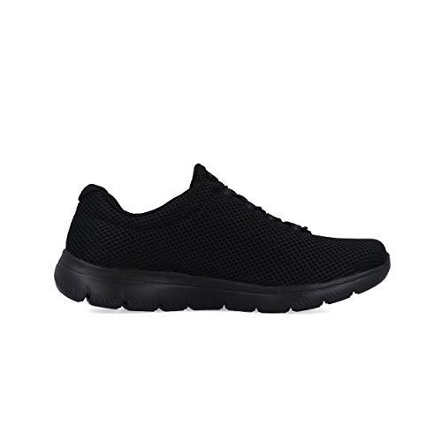 Donna Skechers black Summits black Black Bbk Sneaker pqwEqR48