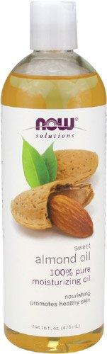NOW Foods Huile d'amande douce, huile hydratante, 16 oz