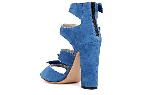 Sandalo Blu Behind Closed Cuatro Noir Suede 38 Kna5112253380 Nudos Cafè 2253 Con qSUXSg