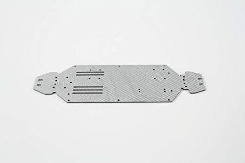 ONEHOBBY Chassis 3,0mm Silber für LC Racing langes Chassis TG/DT/SC/RC 001GFKLB